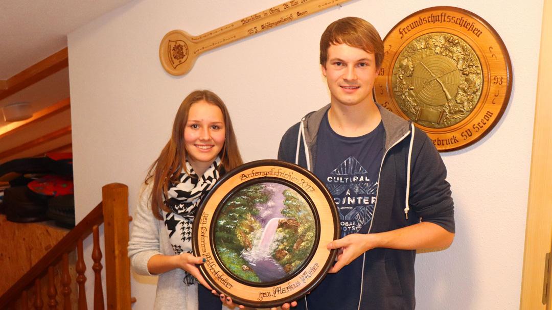 von links nach rechts: Sabrina Wolfertstetter, Markus Meier