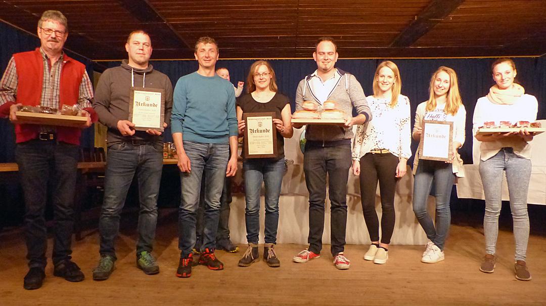 Die Gewinner der Mannschaftswertung