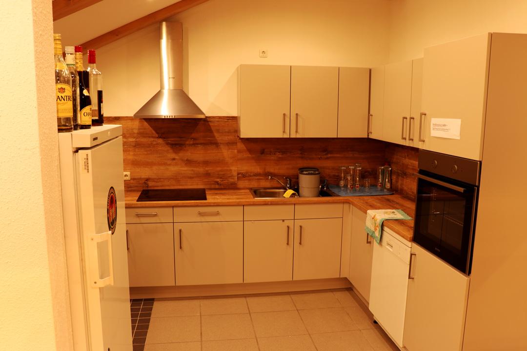 Die erweiterte, neue Küche
